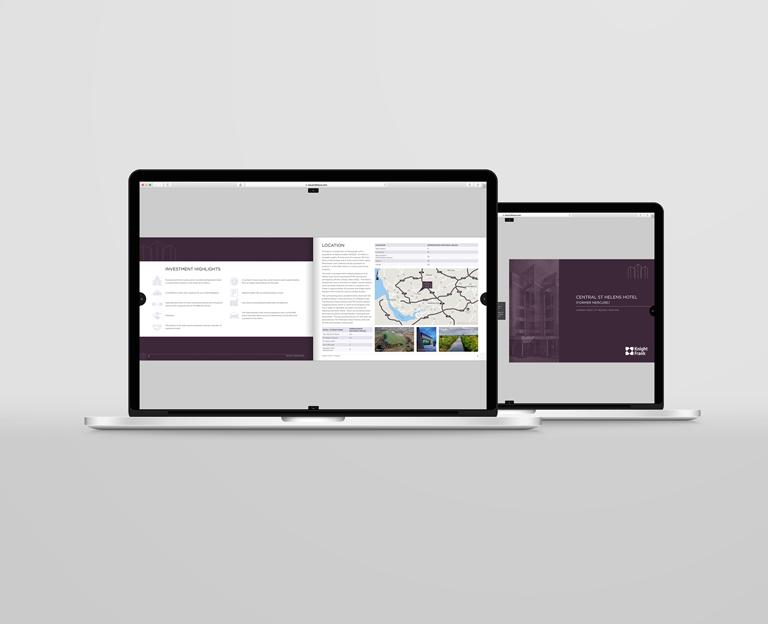 Property Brochure Design from Bespoke Brochures